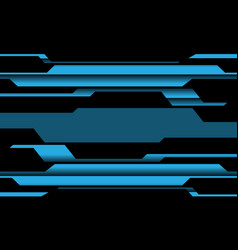 Abstract blue circuit cyber line pattern design vector