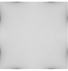 Abstract monochrome line grid pattern vector