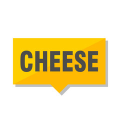 Cheese price tag vector