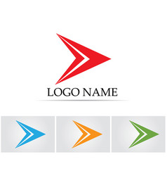 Faster lightning icon logo and symbols vector