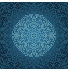 Mandala patternOrient ethnic background vector image