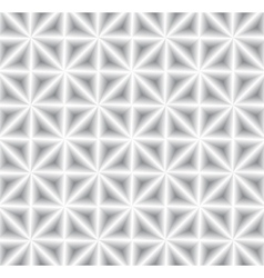 Modern geometric 3d seamless pattern vector image