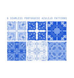 seamless pattern portuga vector image