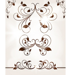 Vintage Leaf Design vector
