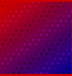 abstract stars pattern on red gradient color vector image