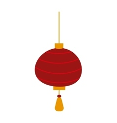 Chinese lantern symbols vector