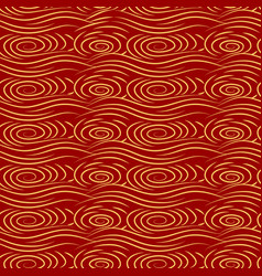 chinese seamless pattern ocean whirlpool of water vector image