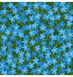 Forget me not seamless background vector