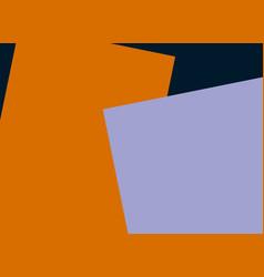 orange purple paper empty space vector image