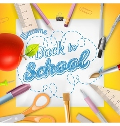 School season invitation template eps 10 vector image stopboris Images