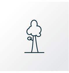 sequoia icon line symbol premium quality isolated vector image