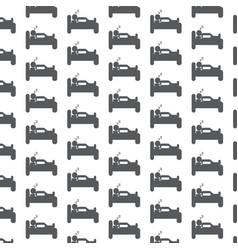 sleep icon pattern background vector image