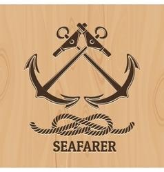 Seafarer Club Emblem vector image