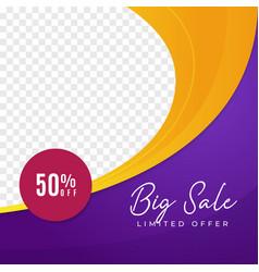 Big sale multipurpose social media post vector