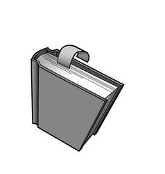 Bookmark user interface icon vector