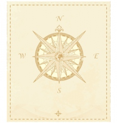 Compass windrose vector