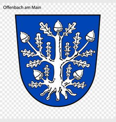 emblem of city of germany vector image