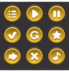 GameUiElements05 vector image