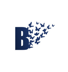 Initial b butterfly freedom vector