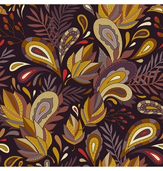 pattern autumn vector image