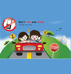 Safety Driving Sign vector