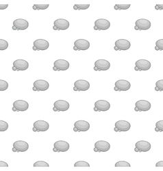 Stones pattern cartoon style vector
