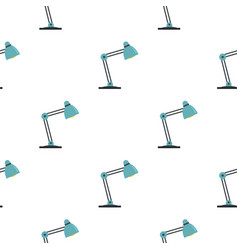 Table lamp pattern seamless vector