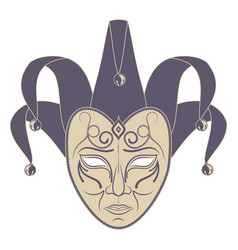 Theatrical mask 14 vector