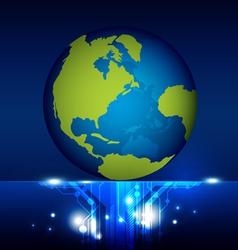 World technology vector