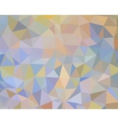 Flat abstract background with triangles vector image