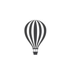 air balloon icon design vector image