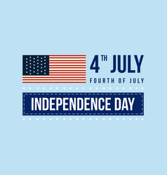 Banner for independence day theme collection vector