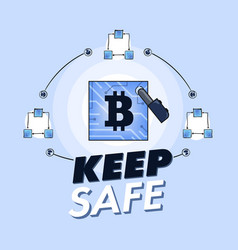 Bitcoin cryptographic currency under malware vector