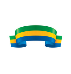 Gabon flag vector