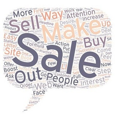 How to Boost Your Sales in Easy Steps text vector