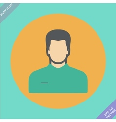 icon of man vector image