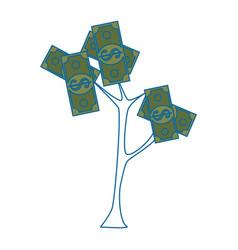 Money plant symbol vector