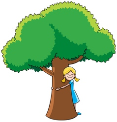 Tree Hugger vector