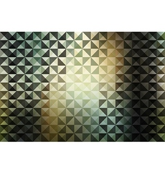 creative triangle pattern vector image