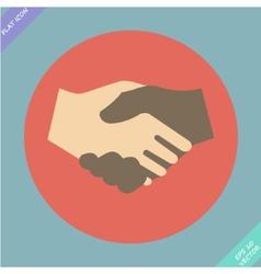 Handshake icon - vector image