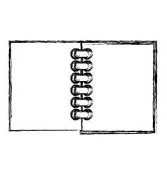 school note book vector image