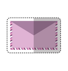 Envelope letter isolated icon vector