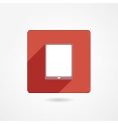 IPad icon vector image vector image