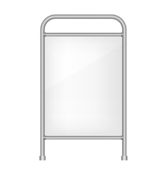 Ad banner vector image