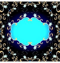 Background and ornament precious stones vector