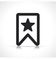 Bookmark icon symbol design vector