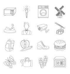 Finance travel wedding and other web icon in vector