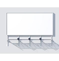 Gallery Billboard Blank vector