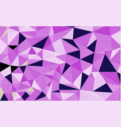 geometric polygon background vector image
