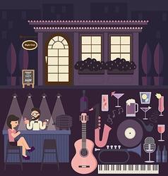 Lounge Bar vector